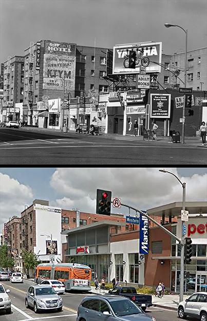 Hollywood Blvd Western Ave