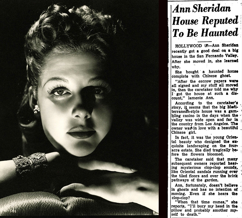 Ann Sheridan Haunted House