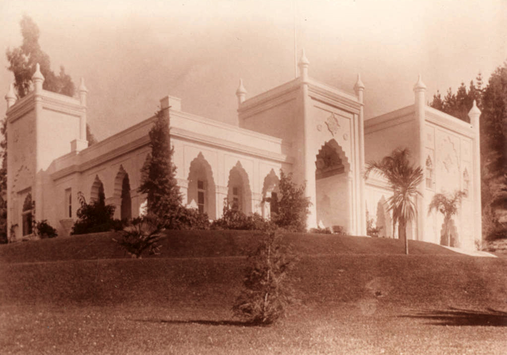 El Miradero after the new tower/master bedroom was added in 1911.