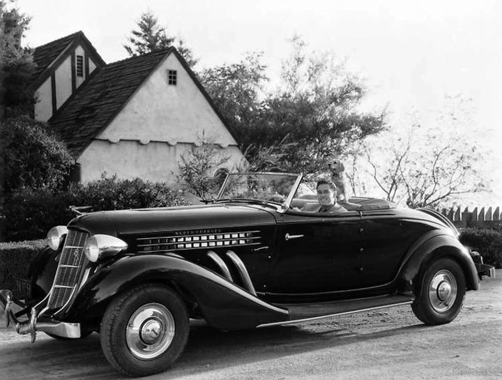 Errol Flynn car
