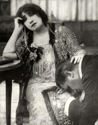 Sarah Bernhardt 1915