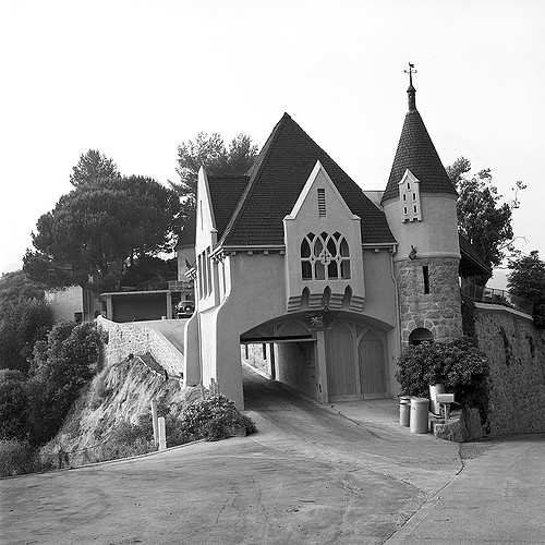 Wolf Lair Castle in the 1950s.