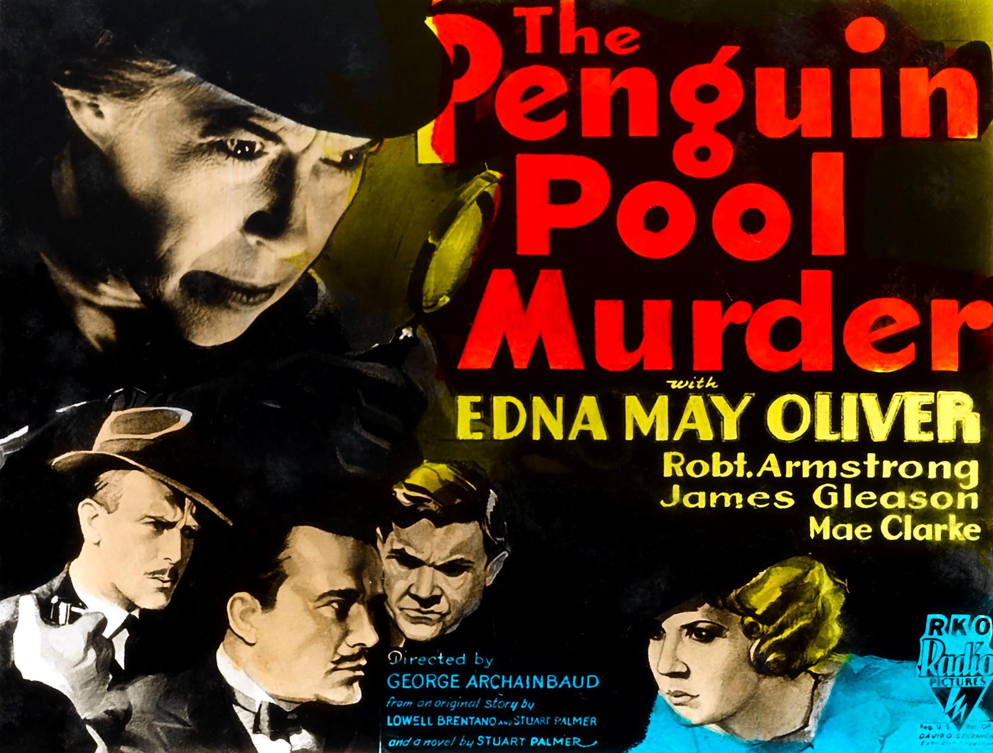 The Penguin Murder Case 1932