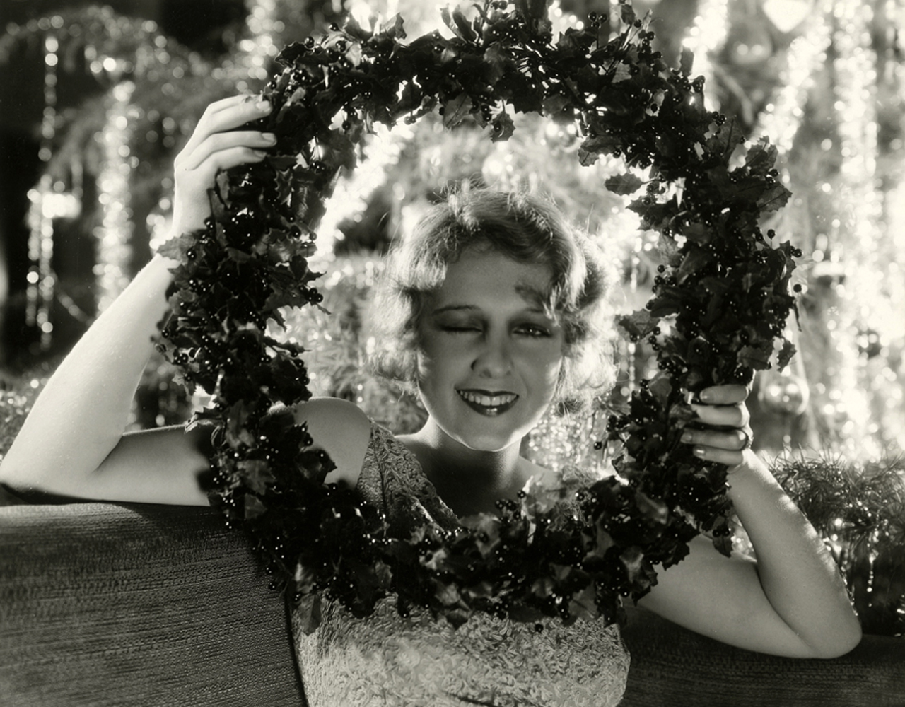 Anita Page Christmas Photos