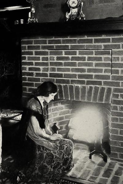 Alice Joyce fireplace