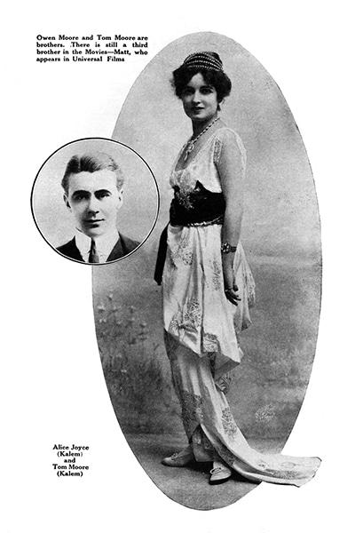 ALice Joyce and her husband Tom Moore. (Bizarre Los Angeles)