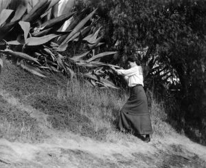 A woman hunting somewhere in the Los Angeles area. circa 1912. (Bizarre Los Angeles)