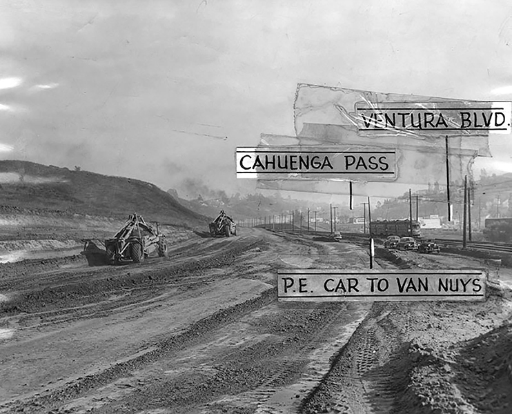 101 Freeway Cahuenga Pass