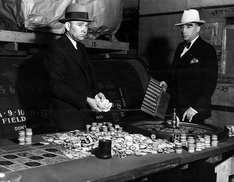 1934 Gambling Raids