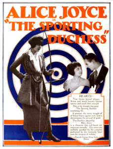 "Alice Joyce in ""The Sporting Duchess"" (1920)"