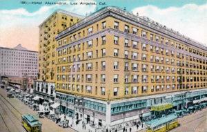 Alexandria Hotel 1915