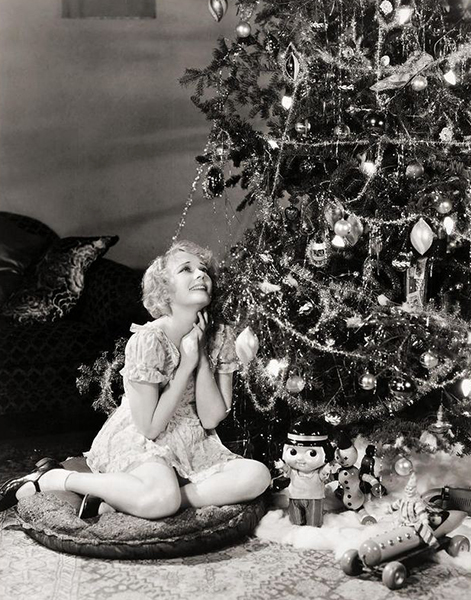 Anita Page Christmas (Bizarre Los Angeles)