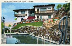 Ann Harding Hollywood home