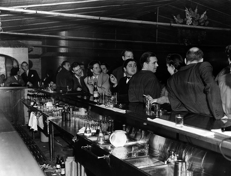 7566 Club 7566 Melrose Ave 1941