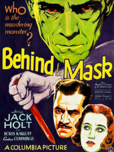 Behind the Mask 1932
