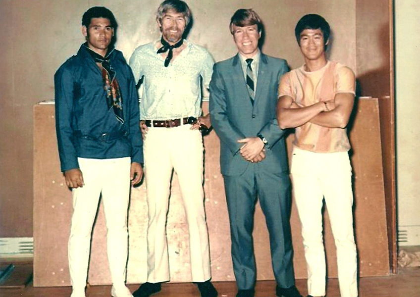 Bruce Lee Chuck Norris James Coburn