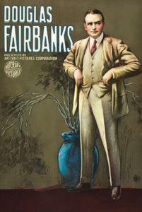 Douglas Fairbanks personality poster