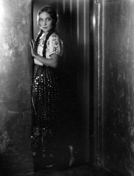 """""""I had my Nana from time I was born till when I marry. She was marvelous Indian who comb her hair like mine now in long braids. Oh, gosh, how she worship me."""" -- Dolores Del Rio (Bizarre Los Angeles)"""