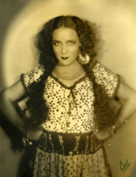 """When I heard everybody talking about Dolores Del Rio, I couldn't theenk it was me they were talking about. I never dreamed about it. It wasn't my ambition."" -- Dolores Del Rio (Bizarre Los Angeles)"