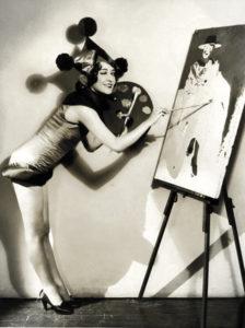 Dorothy Sebastian painting