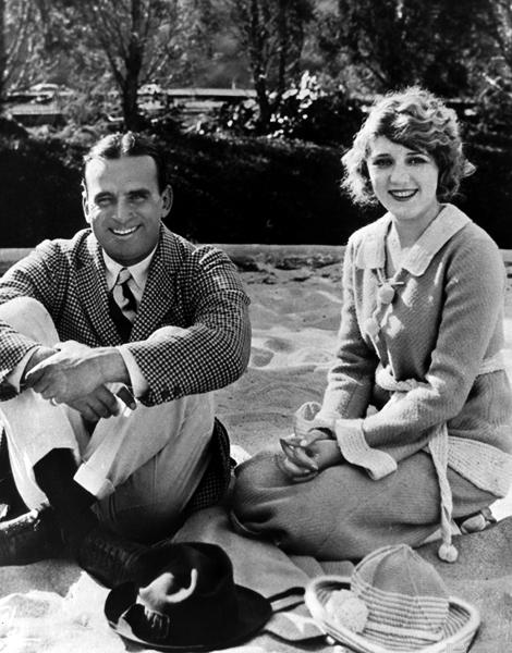 Douglas Fairbanks and Mary Pickford 1925