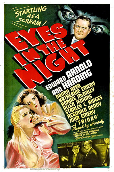 Eyes in the Night Ann Harding 1942