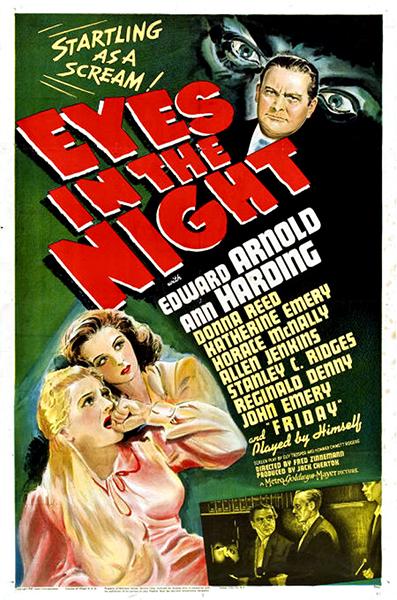 Eyes in the Night Ann Harding 1942