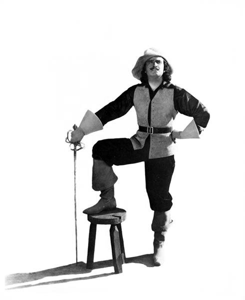 Douglas Fairbanks in The Three Musketeers. (Bizarre Los Angeles)