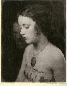 Portrait of Fay Wray by William Mortensen. (Bizarre Los Angeles)