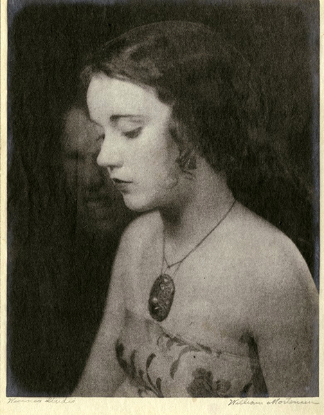 Portrait of Fay Wray by William Mortensen. (Bizarre Los Angeles)