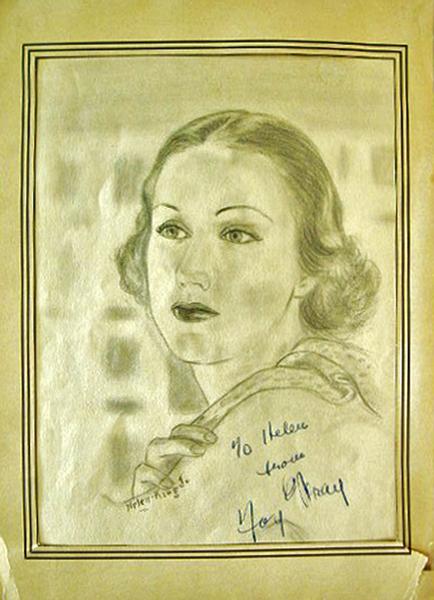 Fay Wray Sketch