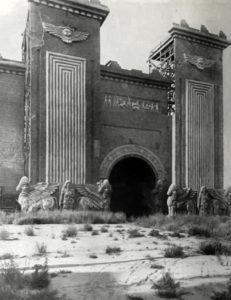 D.W. Griffith Intolerance Babylon Film Set 1917