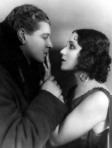 Ralph Forbes and Dolores Del Rio in the The Trail of '98 (1928). Bizarre Los Angeles