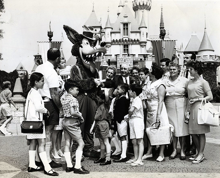 Big Bad Wolf Disneyland 1969