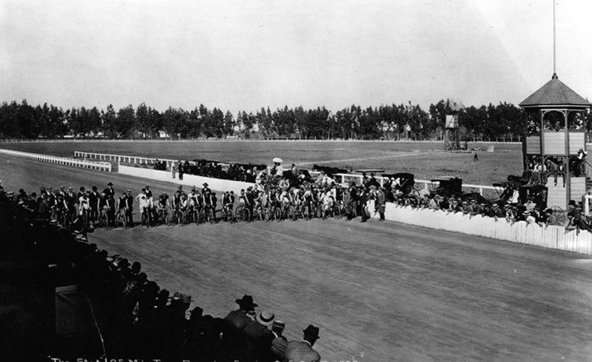 Bike Race 1893 Agricultural Park