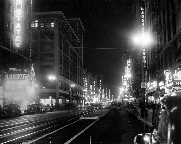 Broadway Street 1946
