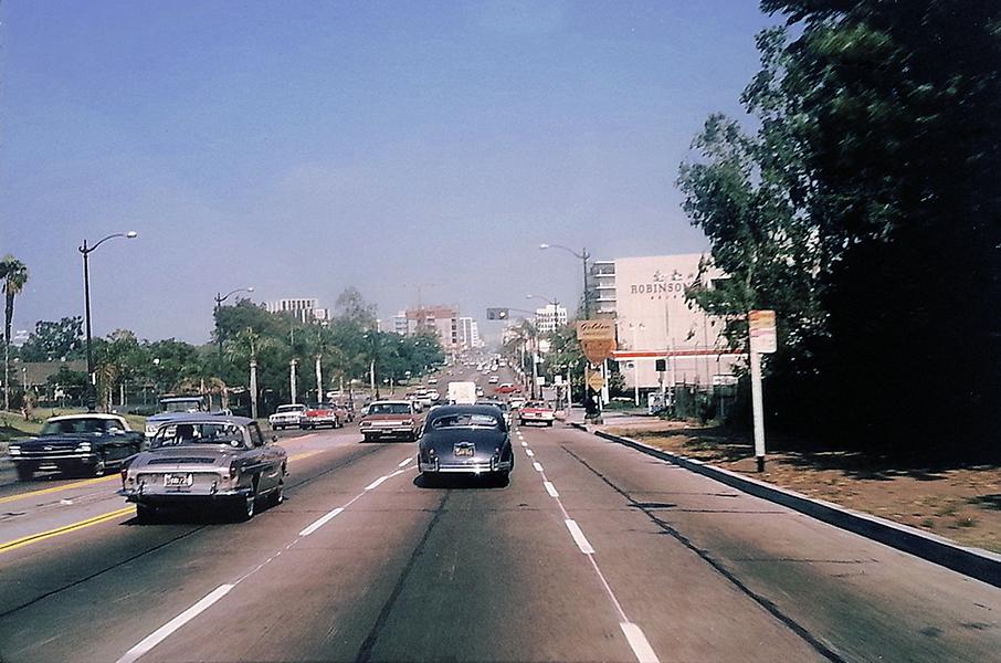 Entering Beverly Hills 1964