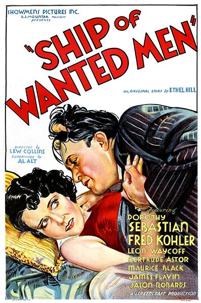 Ship pf Wanted Men 1933