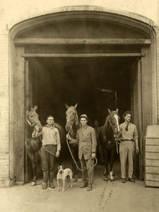 A stable either in or near Los Angeles, circa 1911.