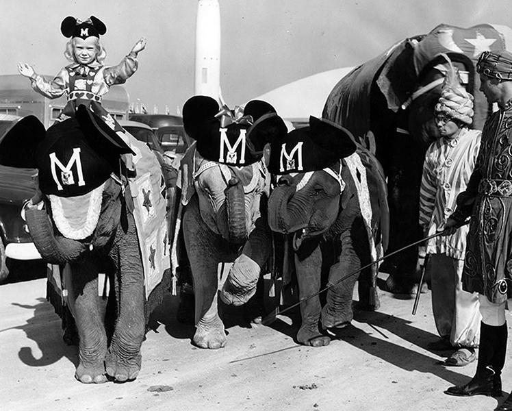 Vintage Disneyland parade