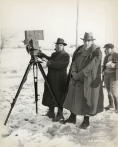 Billy Bitzer D.W. Griffith Way Down East 1920