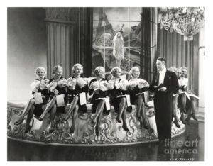 Maurice Chevalier 1935 art deco