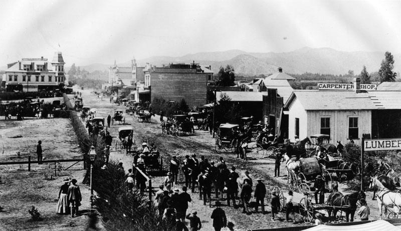 Colorado Street Pasadena 1880