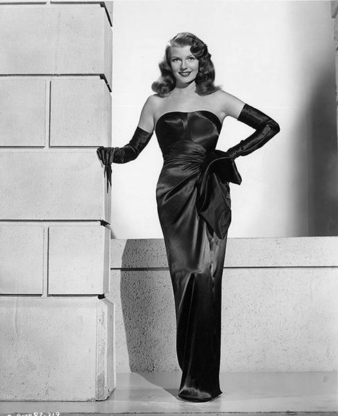 Rita Hayworth in 1946. (Bizarre Los Angeles)