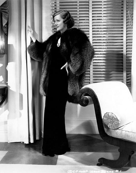 Irene Dunne in 1936. (Bizarre Los Angeles)