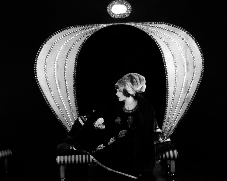 """Alla Nazimova in """"Camille"""" (1921). Bizarre Los Angeles"""