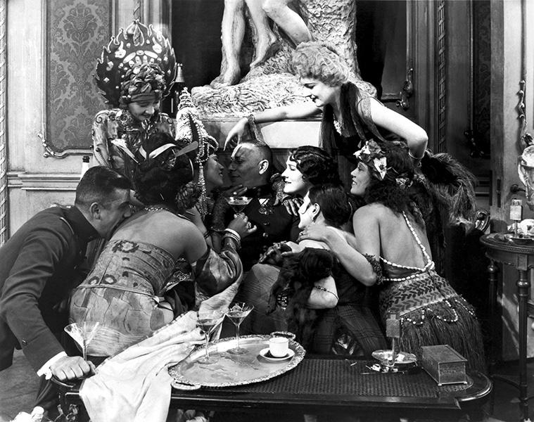 Erich Von Stroheim in The Wedding March (1927). Bizarre Los Angeles