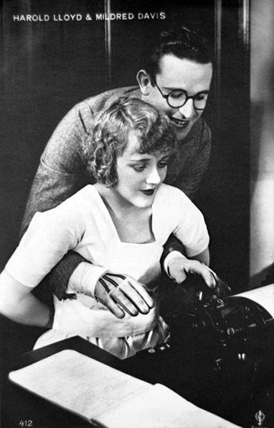 Harold Lloyd and Mildred Davis (Bizarre Los Angeles)