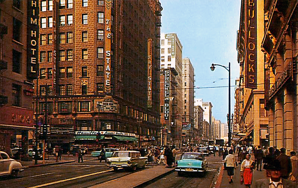 Broadway Street 1959