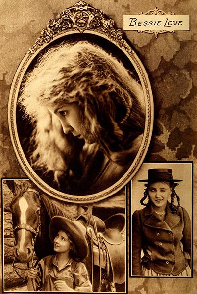 Bessie Love montage